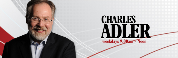Charles Adler announced this week that he will be leaving 680 CJOB and moving to B.C. His final show will be Friday, August 7th. (Image: cjob.com